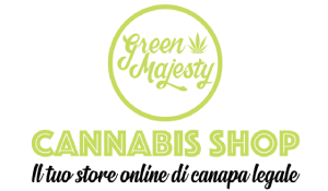 Green Majesty cannabis shop logo